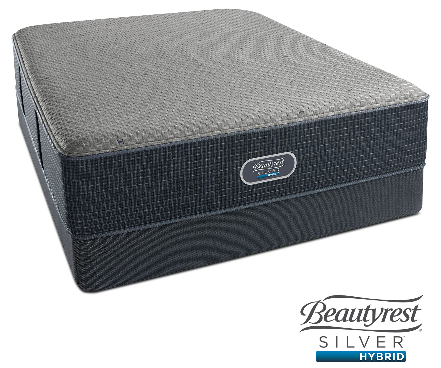 Belle Island Ultra Plush Queen Mattress and Low-Profile Foundation Set