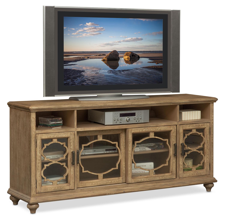 Mayfair Media Credenza Natural American Signature Furniture