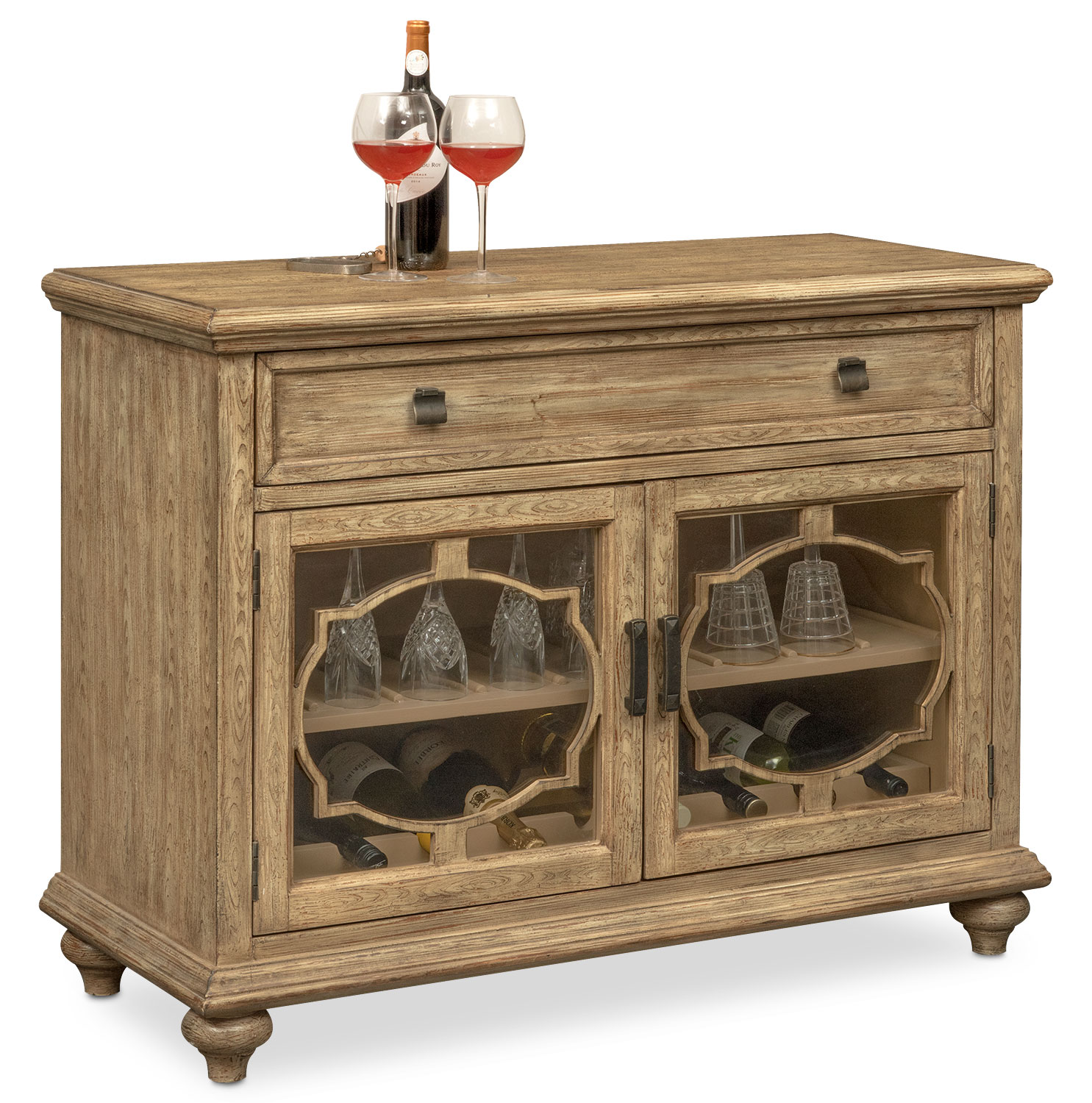 Mayfair Wine Cabinet - Natural