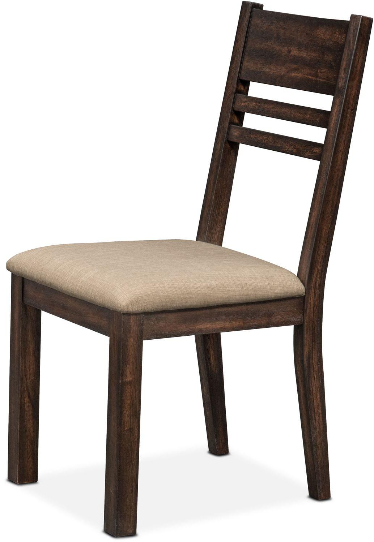 Tribeca Side Chair Tobacco American Signature Furniture