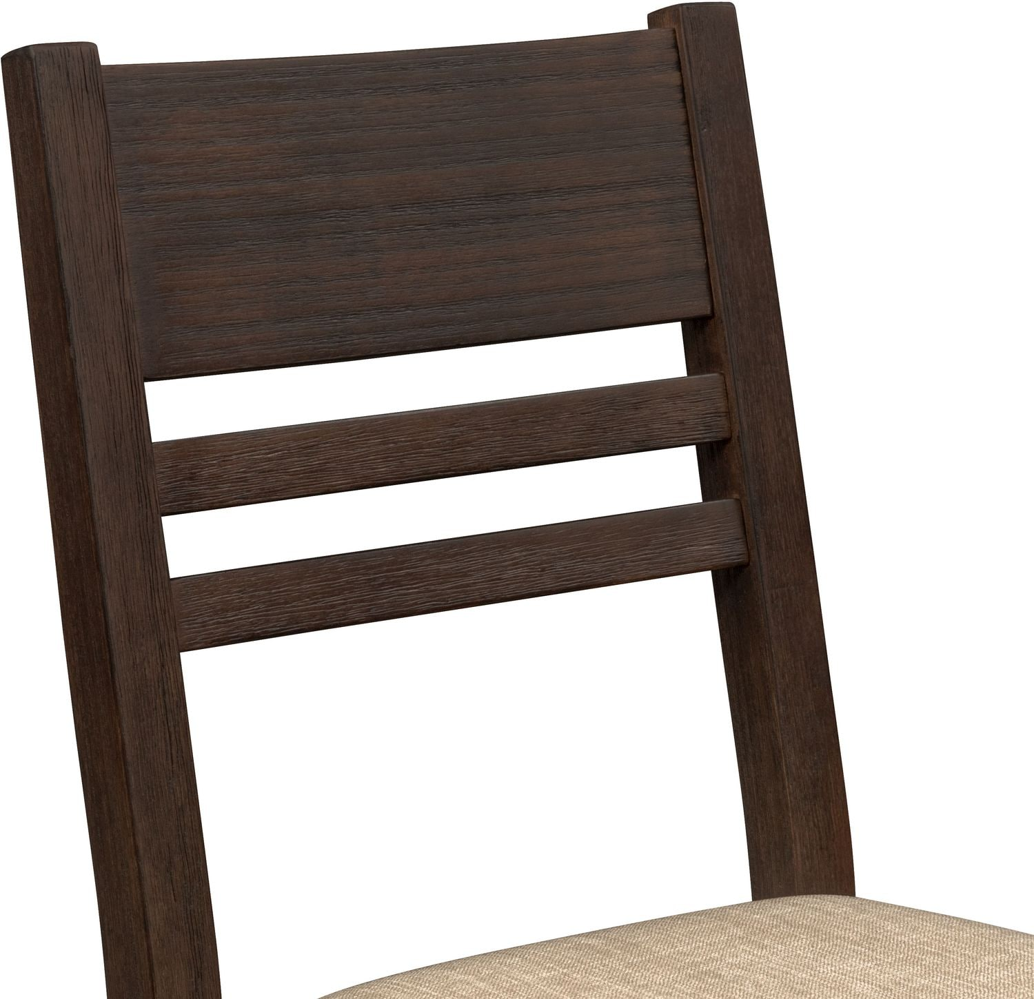 Tribeca Counter Height Table 4 Side Chairs and Bench Tobacco