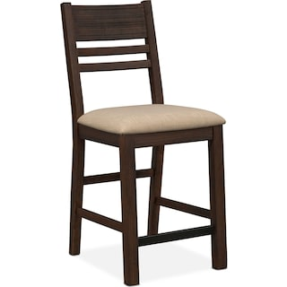 Tribeca Counter-Height Side Chair - Tobacco