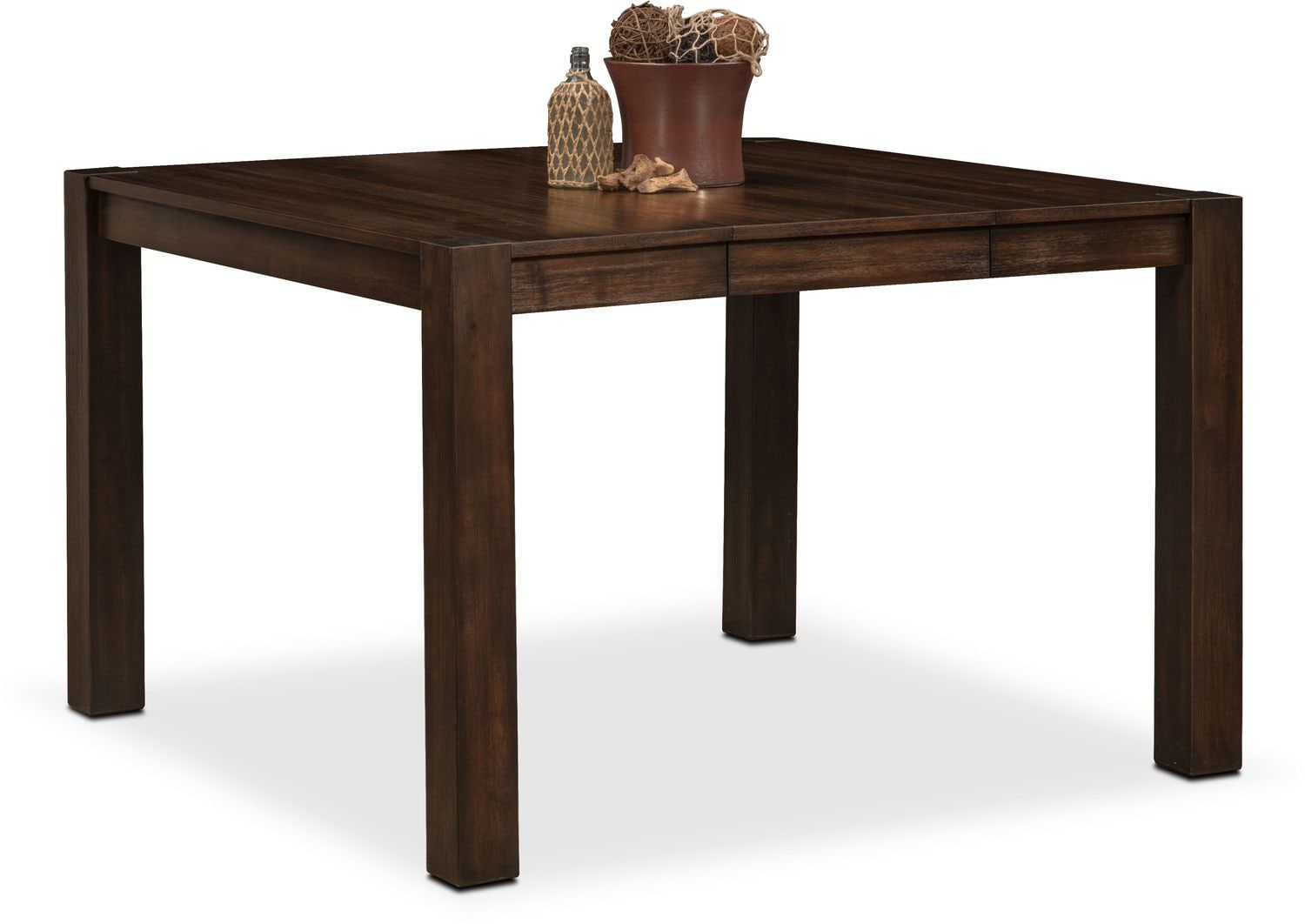 Tribeca Counter Height Table And 6 Side Chairs Tobacco