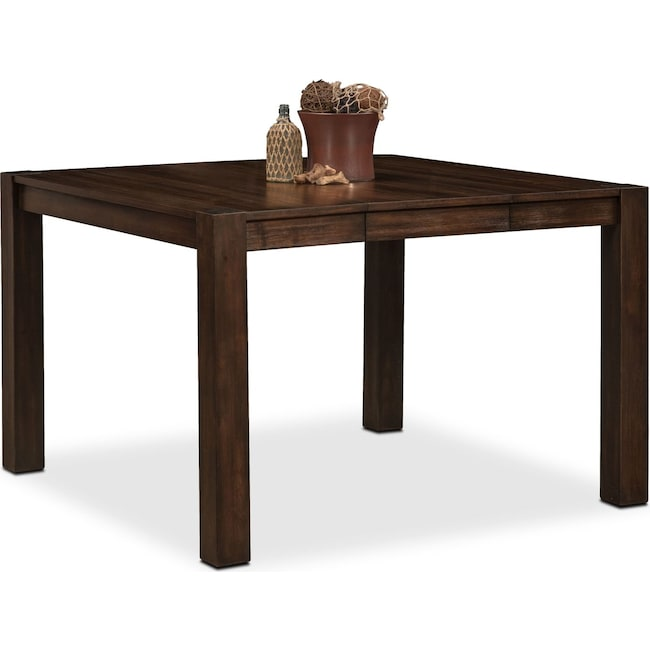 Dining Room Furniture - Tribeca Counter-Height Table - Tobacco