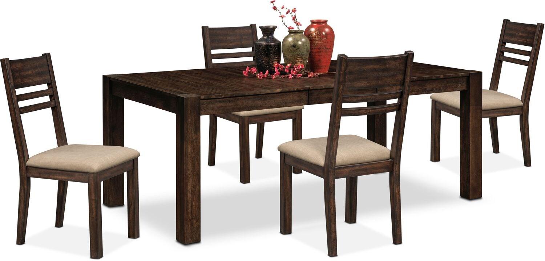 shop dining room furniture value city furniture american signature furniture. Black Bedroom Furniture Sets. Home Design Ideas