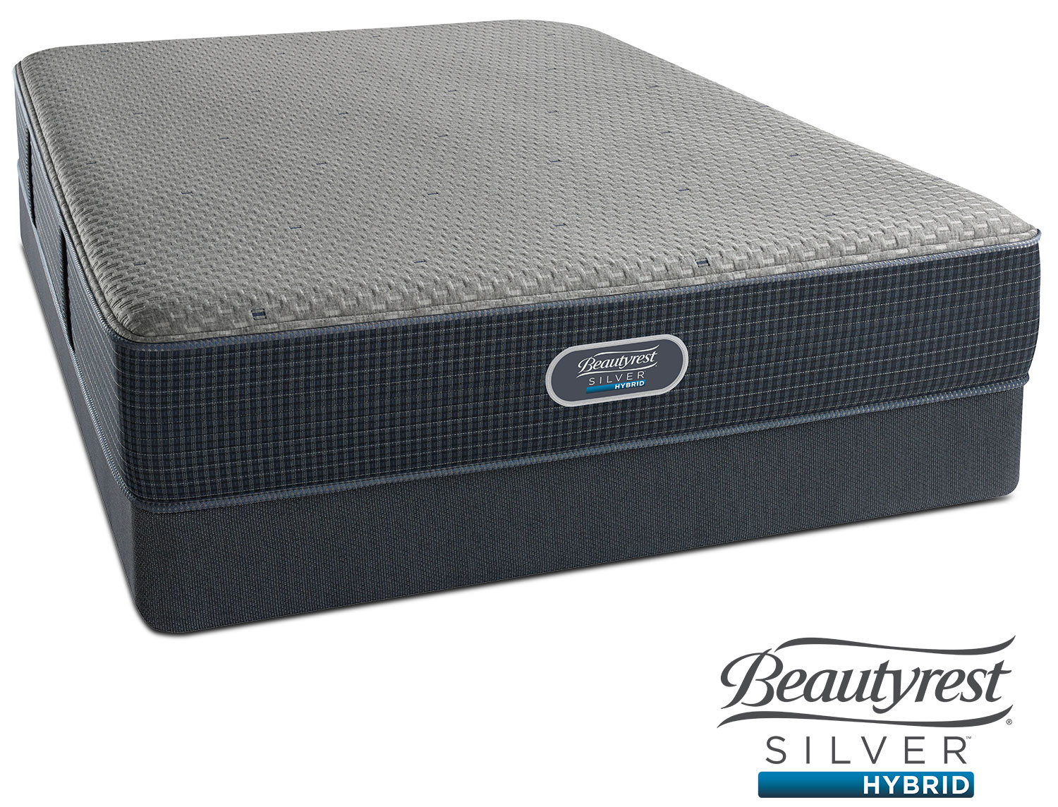 Mattresses and Bedding - Gulf Shores Luxury Firm King Mattress and Split Low-Profile Foundation Set