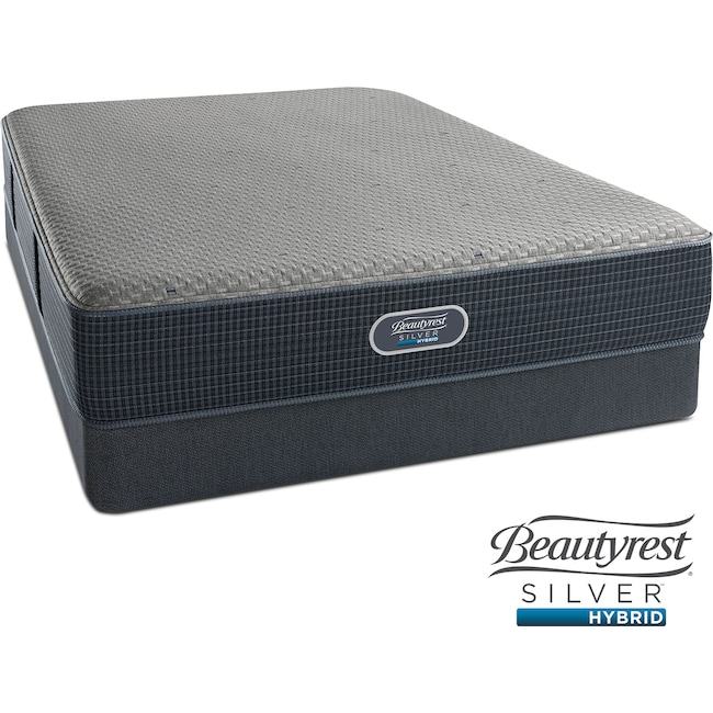 Mattresses and Bedding - Gulf Shores Luxury Firm King Mattress and Split Foundation Set