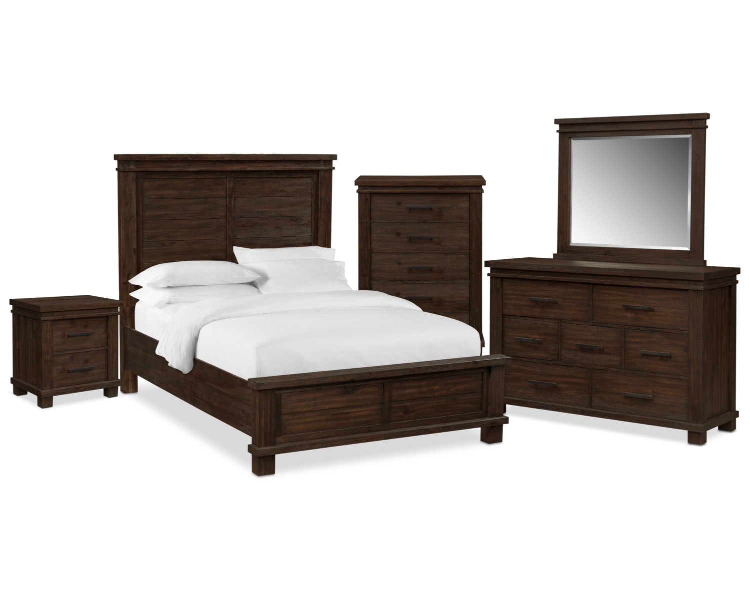 The Tribeca Bedroom Collection - Tobacco