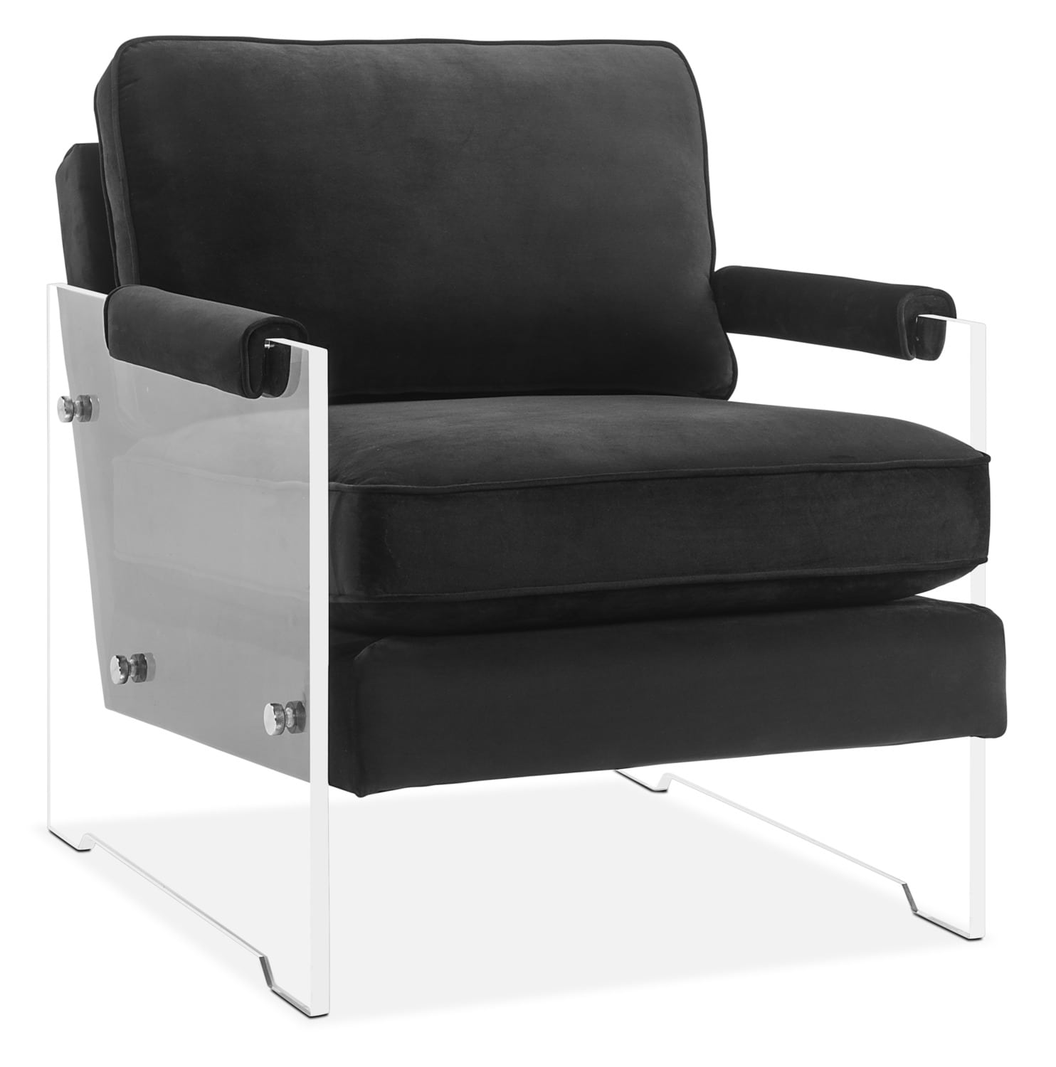 Living Room Furniture - Lexi Accent Chair - Black