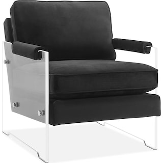 Lexi Accent Chair - Black