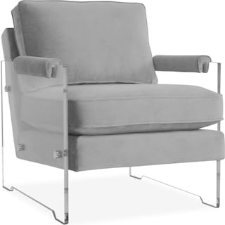 Lexi Accent Chair - Gray