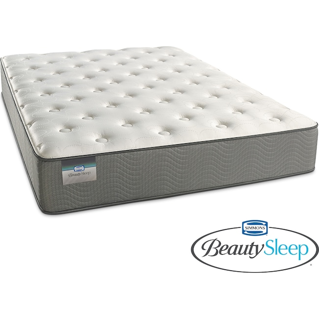 Mattresses and Bedding - French Grey Plush Twin Mattress
