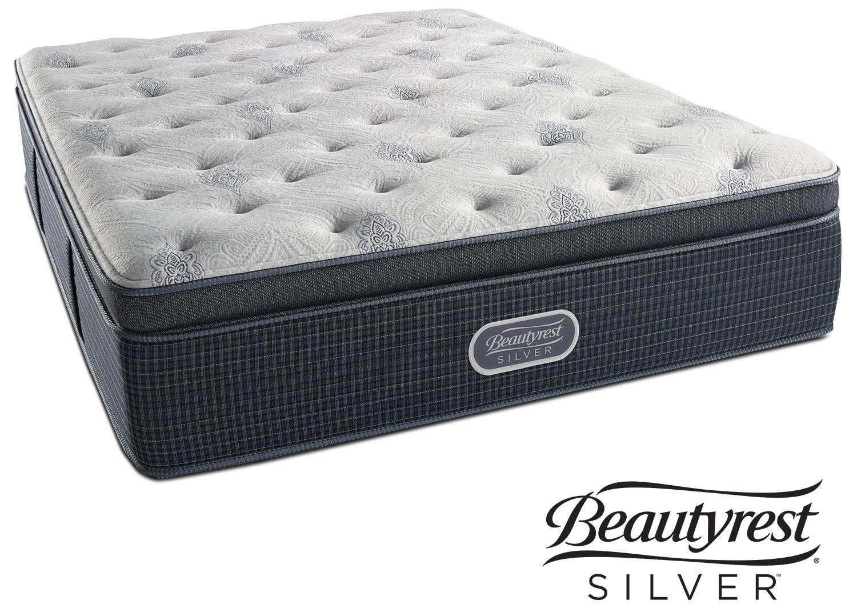 Mattresses and Bedding - Crystal Ridge Plush Pillowtop Queen Mattress