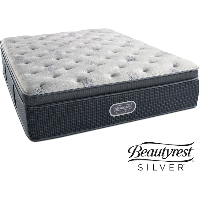 Mattresses and Bedding - Crystal Ridge Plush Pillowtop Queen Mattress