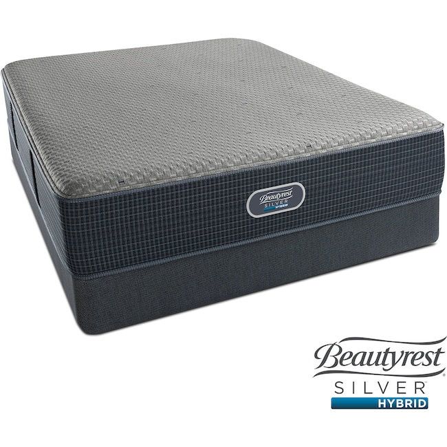 Mattresses and Bedding - Siesta Key Plush King Mattress and Split Foundation Set