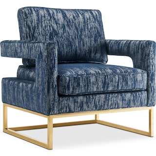Levana Accent Chair - Blue