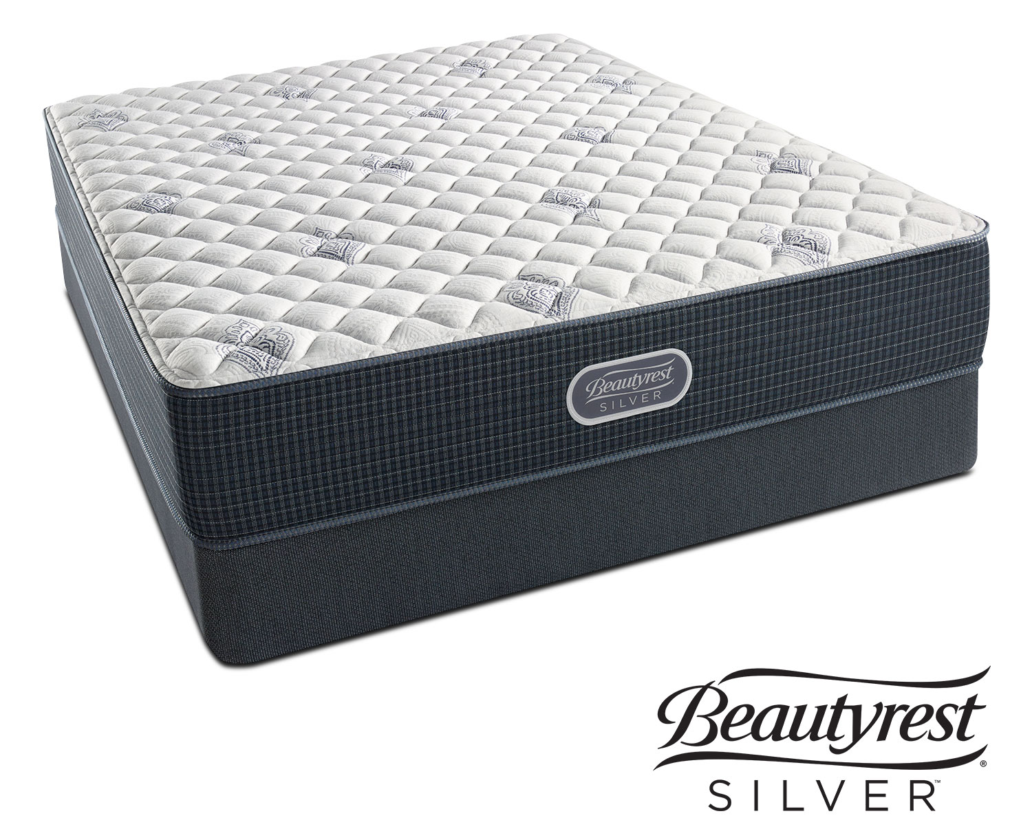 White River Extra Firm Queen Mattress and Low-Profile ...