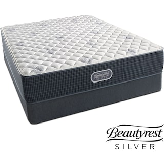 White River Extra Firm Twin Mattress and Low-Profile Foundation Set