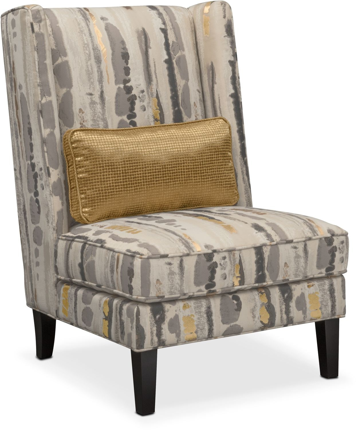 limelight accent chair pewter