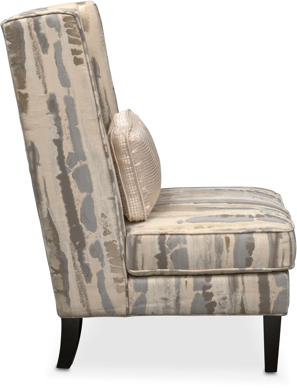 Limelight Accent Chair Platinum American Signature