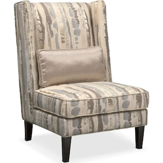 Limelight Accent Chair- Platinum
