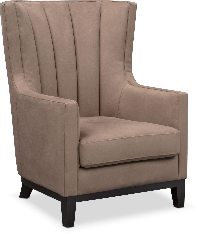 Brianna Accent Chair   Brown