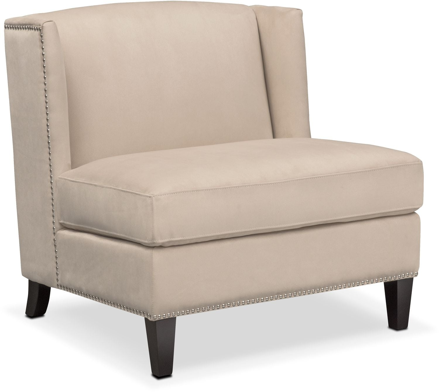 Living Room Furniture - Torrance Accent Chair - Taupe