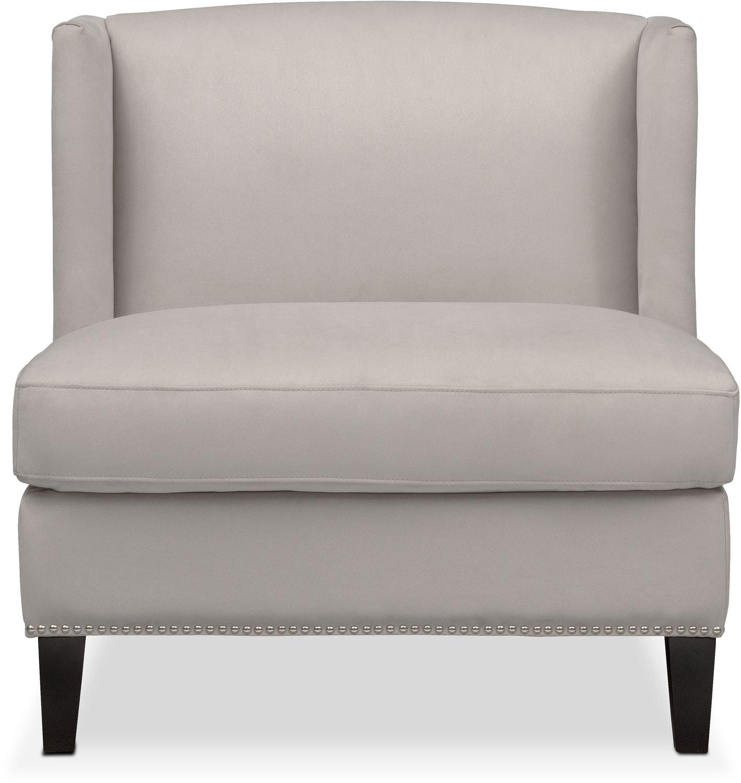 Magnificent Torrance Accent Chair Light Gray Machost Co Dining Chair Design Ideas Machostcouk