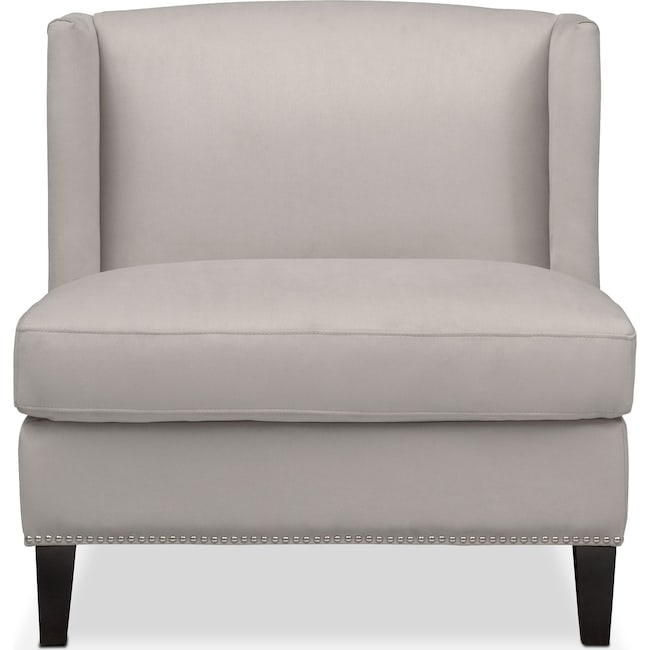 Accent and Occasional Furniture - Torrance Accent Chair - Light Gray