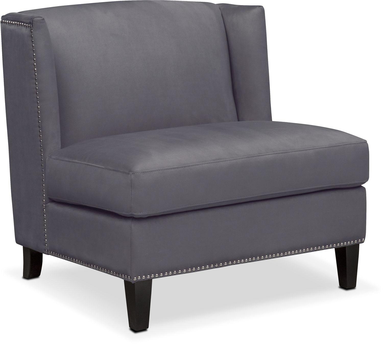 Torrance Accent Chair - Dark Gray