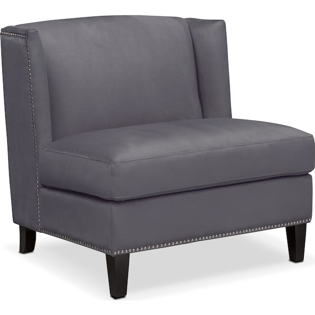 Living Room Furniture - Torrance Accent Chair - Dark Gray