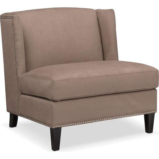 Living Room Furniture - Torrance Accent Chair - Brown