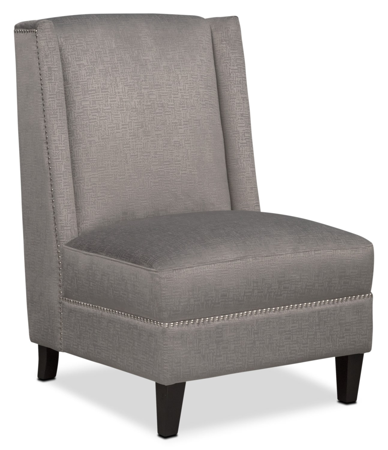 Accent and Occasional Furniture - Roberto Accent Chair - Gray