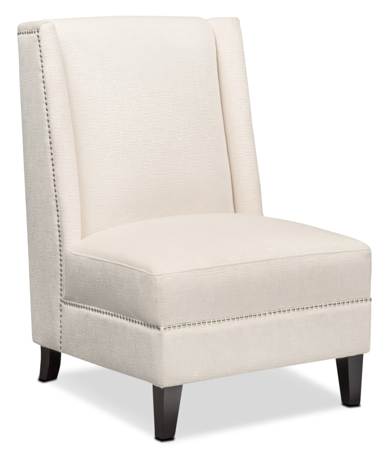 Accent and Occasional Furniture - Roberto Accent Chair - White