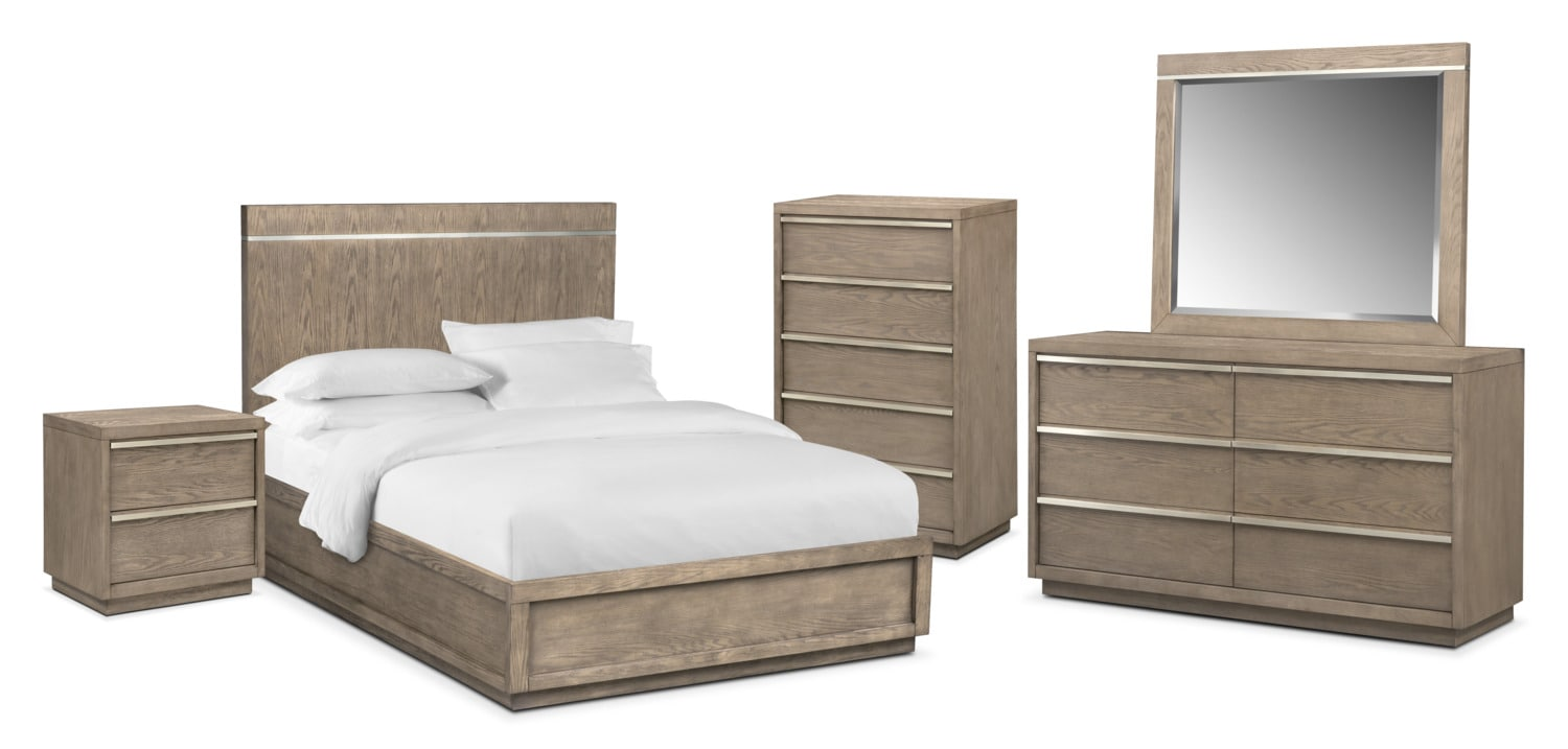 The Gavin Bedroom Collection - Graystone