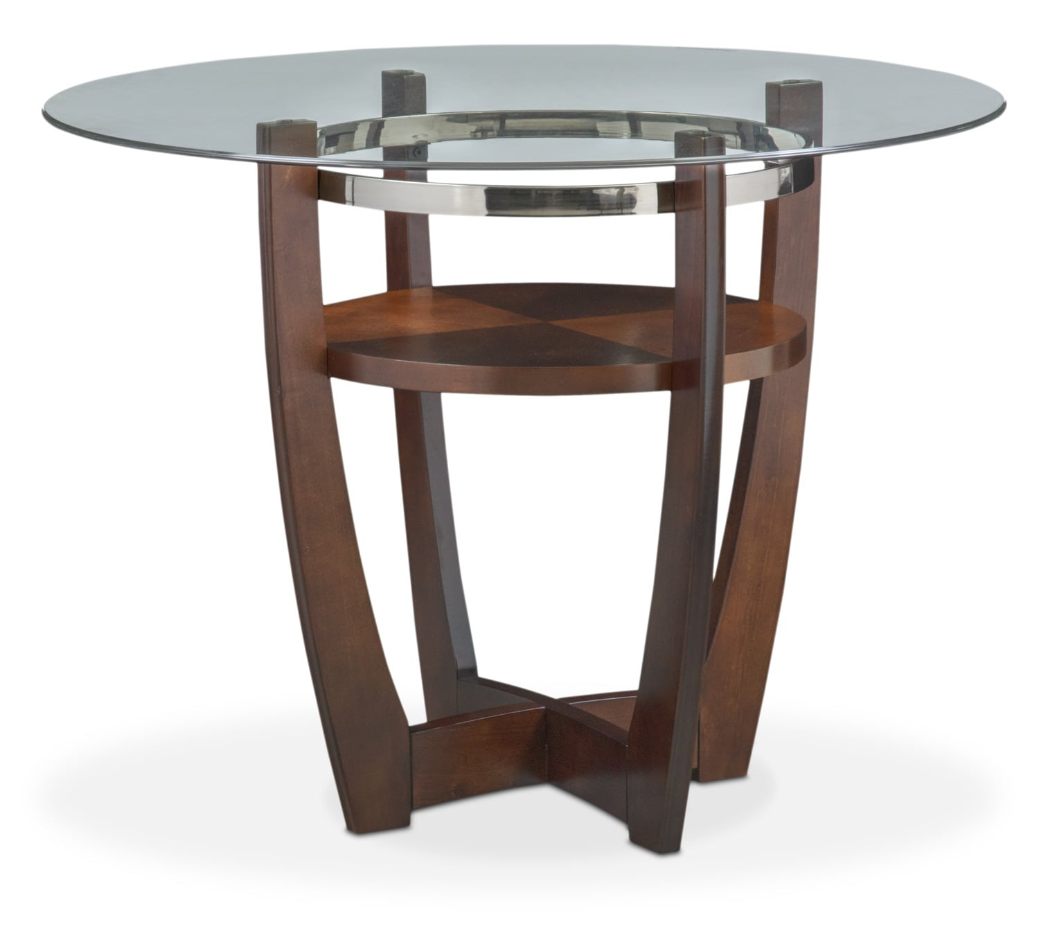 Dining Room Furniture - Alcove Counter-Height Table - Merlot