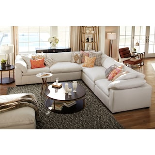 Plush 5-Piece Sectional