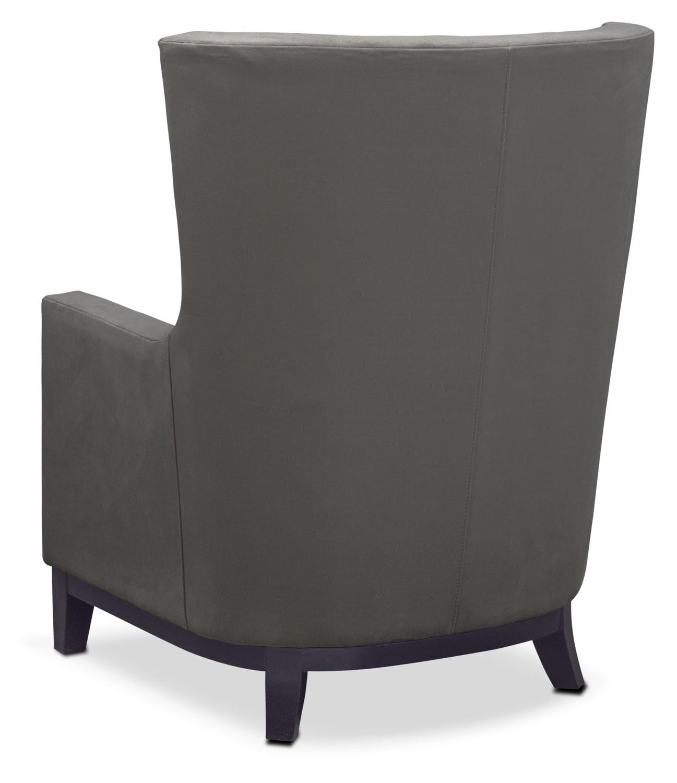 Brianna Accent Chair Dark Gray American Signature