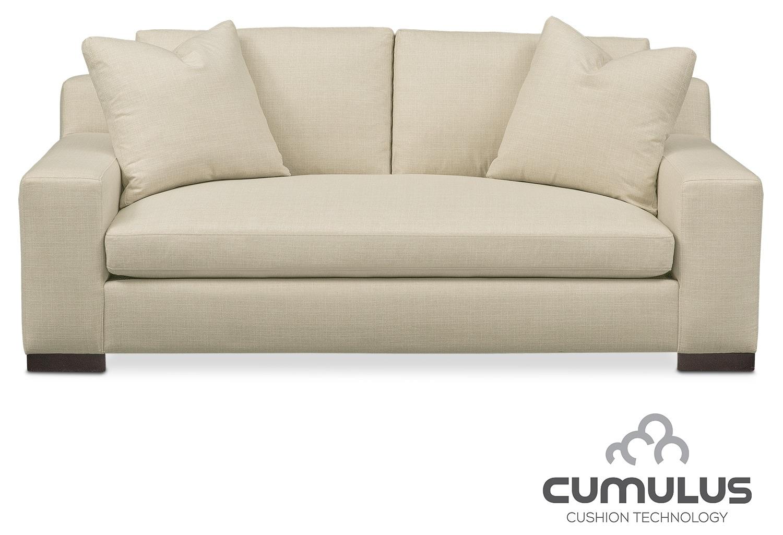 Ethan Cumulus Apartment Sofa - Cream