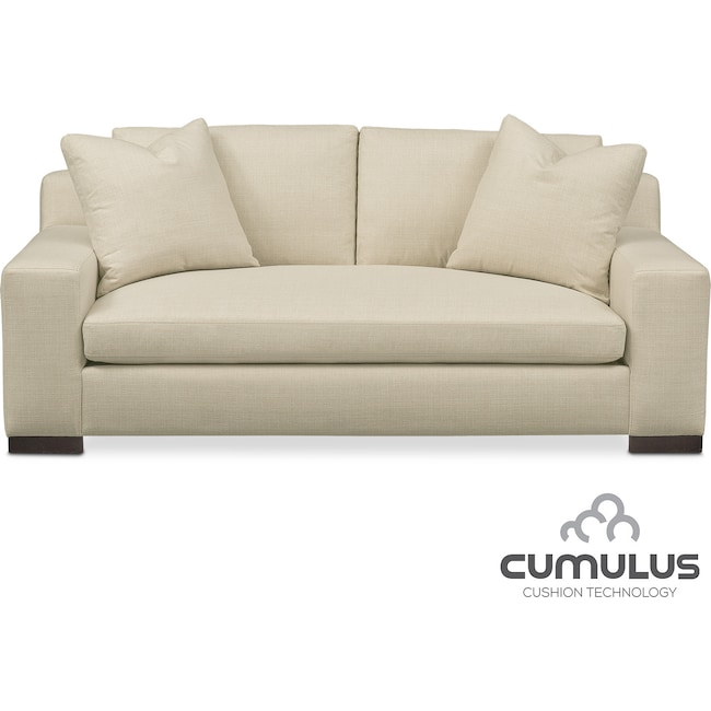 Living Room Furniture - Ethan Cumulus Apartment Sofa - Anders Cloud