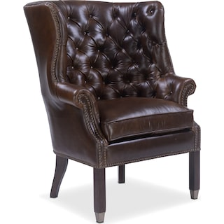 Cranston Accent Chair - Brown