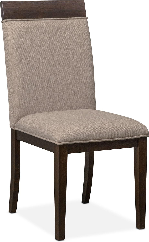 Gavin Side Chair - Brownstone