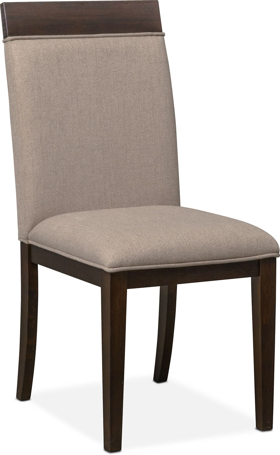 Dining Room Furniture - Gavin Side Chair - Brownstone