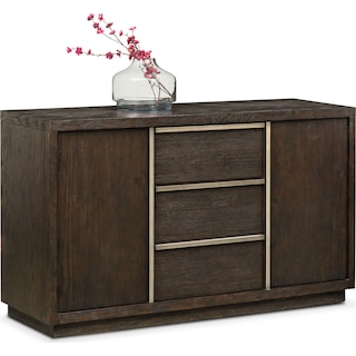 Gavin Sideboard - Brownstone