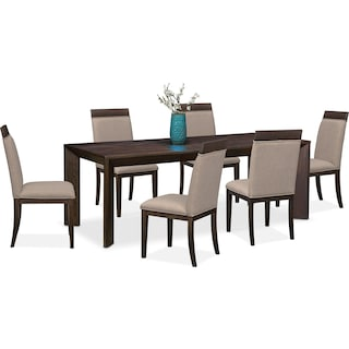 Gavin Table and 6 Side Chairs