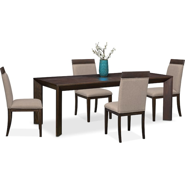 Dining Room Furniture - Gavin Table and 4 Side Chairs
