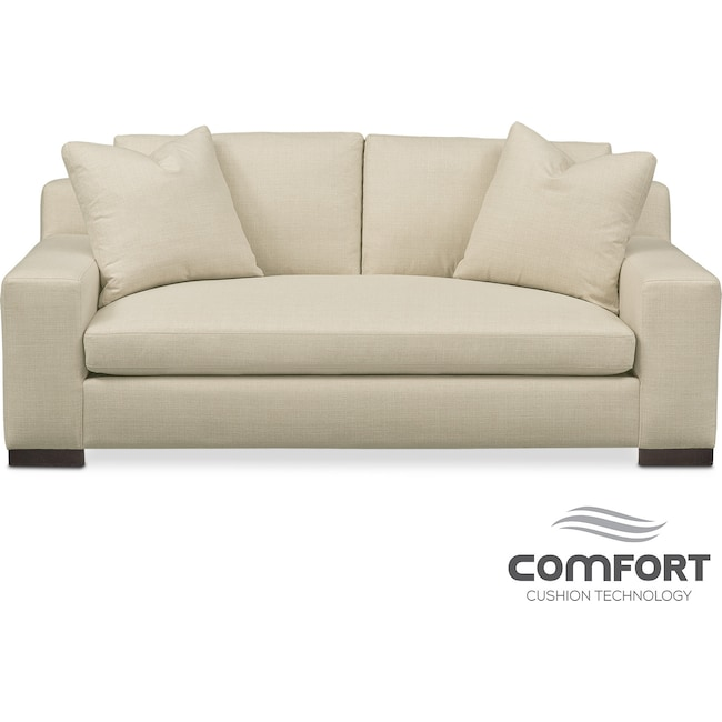 Living Room Furniture - Ethan Comfort Apartment Sofa - Cream