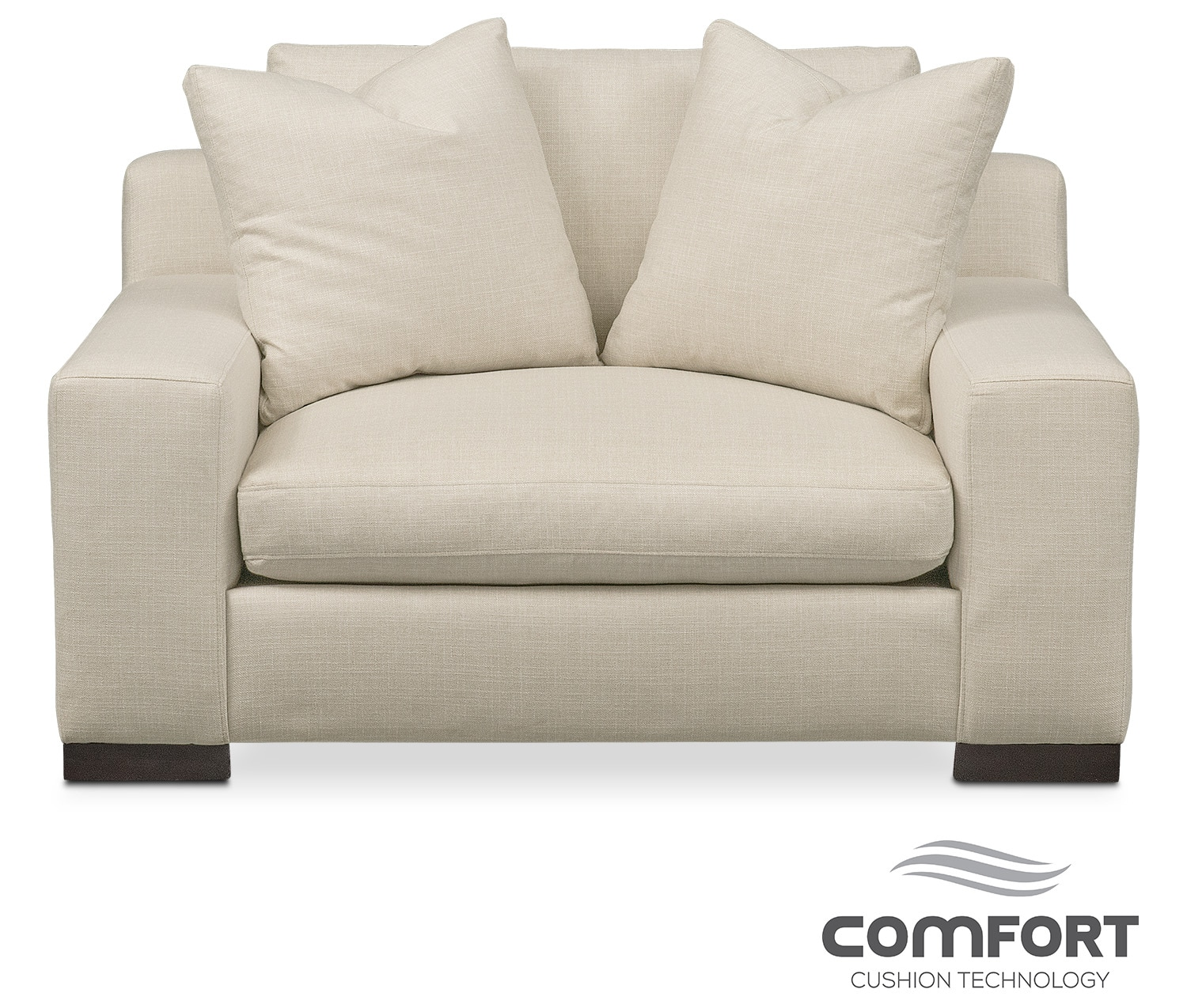 Ethan Comfort Chair and a Half - Cream