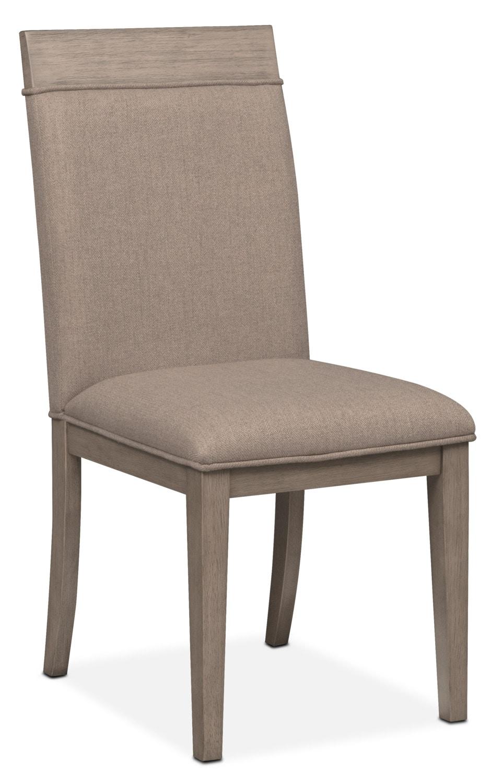 Dining Room Furniture - Gavin Side Chair - Graystone