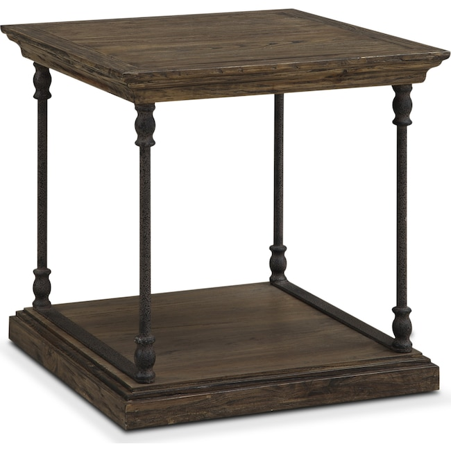 Accent and Occasional Furniture - Bedford End Table - Pine